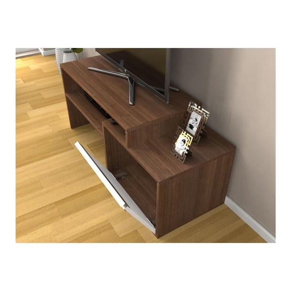 Televizní stolek Torino Walnut