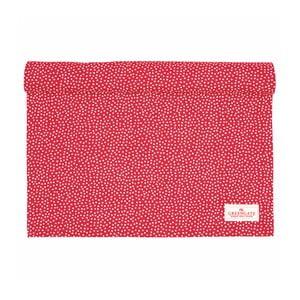 Červený běhoun Green Gate Dot, 45 x 140 cm