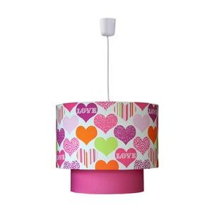 Závěsná lampa Sweet Hearts
