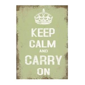 Obraz na plátně Keep Calm, 71x50 cm