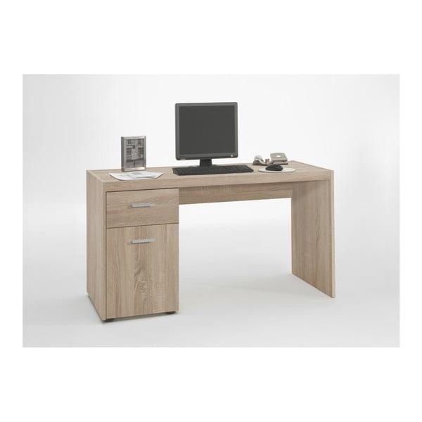 Pracovní stůl v dubovém dekoru 13Casa Alan