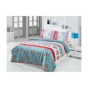 Lenjerie de pat cu cearșaf Blanketa, 200 x 220 cm