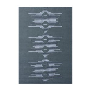 Šedý ručně vázaný koberec Linie Design Dany,145x185cm