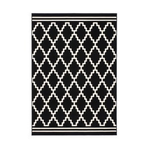 Černobílý koberec Kayoom Sentosa Lommel,80x150cm