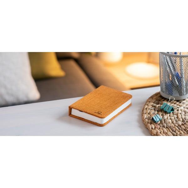 Booklight narancssárga kisméretű könyvalakú LED asztali lámpa - Gingko