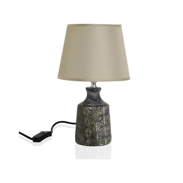 Svetlosivá stolová lampa Versa Home