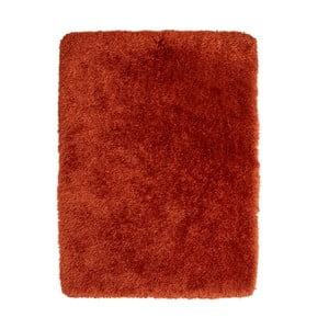 Červený koberec s vyšším vlasem Think Rugs Montana, 150x230cm