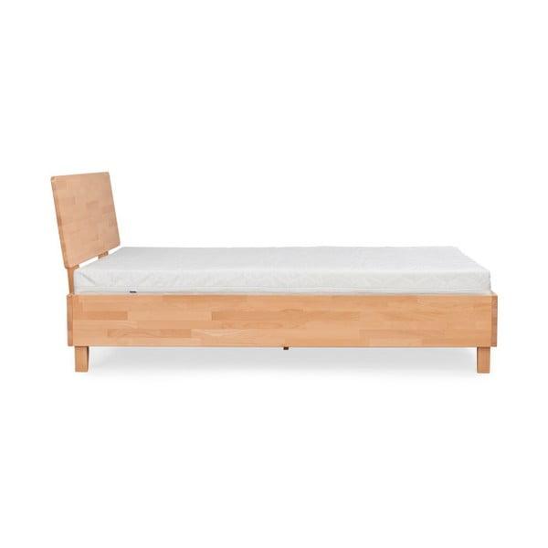 Dvoulůžková postel z masivního bukového dřeva SKANDICA Viveca, 160 x 200 cm