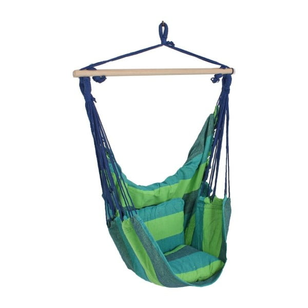 Scaun suspendat pentru grădină ADDU Tobago, verde