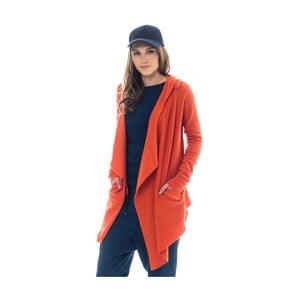 Oranžový kardigan Lull Loungewear Guimar, vel.XS