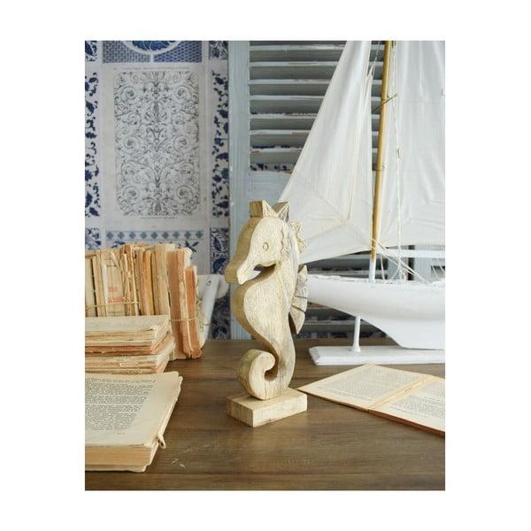 Dekoracja drewniana Orchidea Milano Seahorse, wys. 25 cm