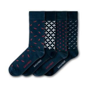 Sada 4 ponožek Black&Parker London Levens Hall, velikost 37 – 43