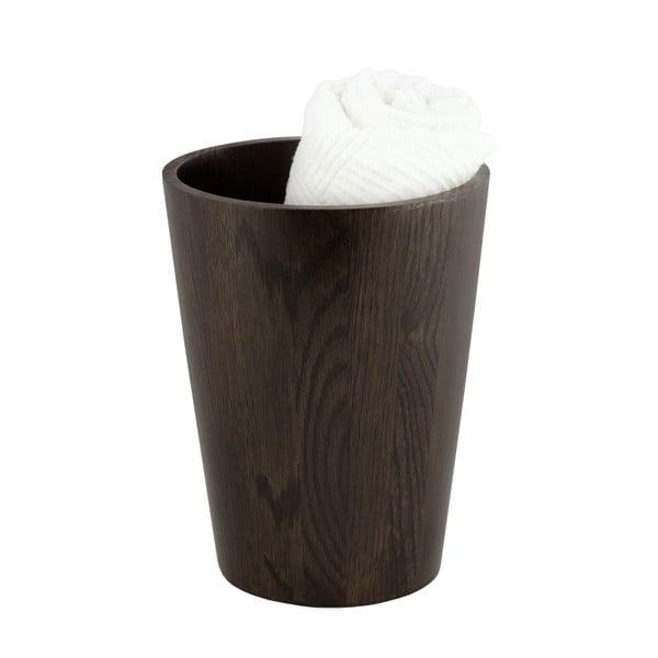 Úložný/odpadkový koš z dubového dřeva Wireworks Mezza Dark