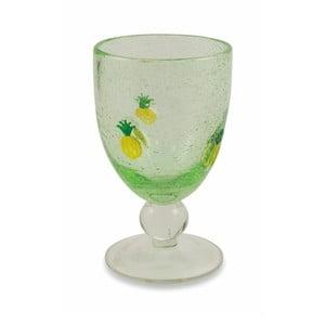 Sada 6 zelených sklenic na víno Villa d'Este Hawaii, 430ml