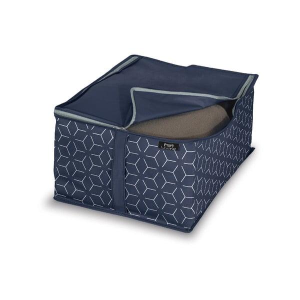 Cutie pentru depozitare Domopak Metrik, 40x30cm, albastru închis