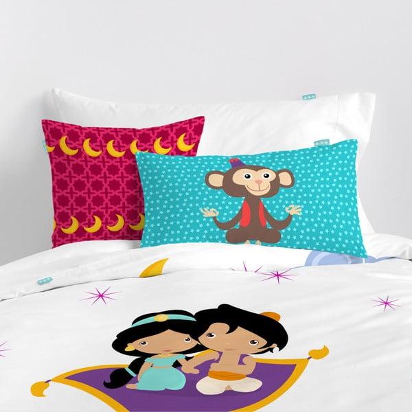 Dětské bavlněné povlečení na peřinu a polštář Mr. Fox Aladdin, 140x200cm
