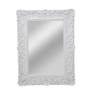 Nástěnné zrcadlo s dekorativním rámem Mauro Ferretti Monaco Bianco, 60 x 90 cm