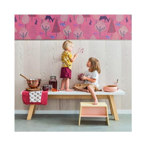 Žlutorůžová dětská stolička Vox Tuli
