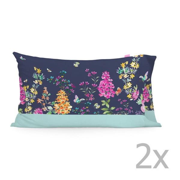 Zestaw 2 bawełnianych poszewek na poduszki Happy Friday Midsummer, 50x75 cm