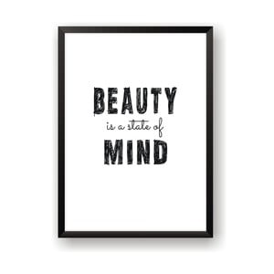 Plakát Nord & Co Beauty Mind, 21 x 29 cm