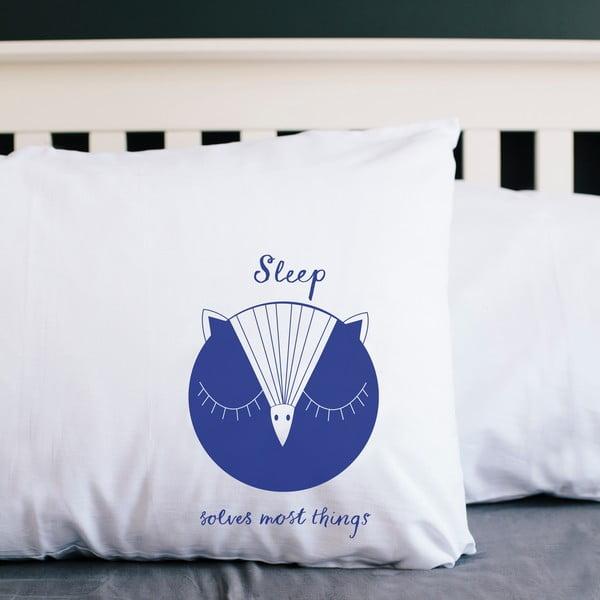 Povlak na polštář Karin Åkesson Design Sleeping Owl, 52x72 cm