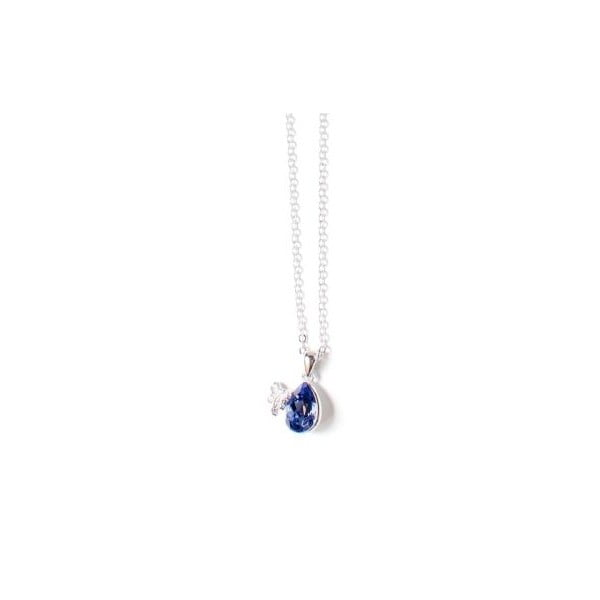 Náhrdelník Swarovski Elements Crystal Violet