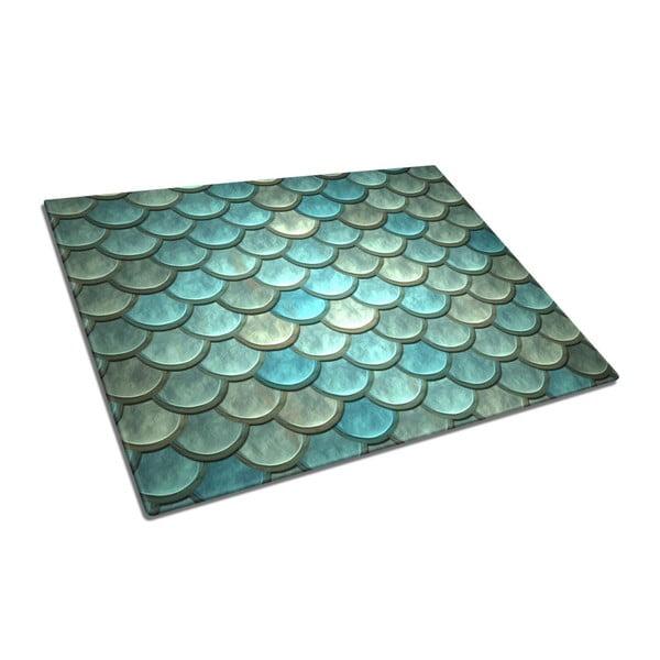 Blue Roof üveg vágódeszka - Insigne
