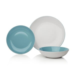 Set veselă din ceramică Sabichi Duck Egg, 12 buc.