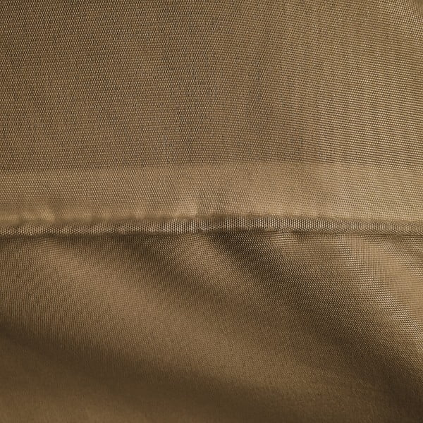Lenjerie din micropercal, pat de o persoană Zensation Satin Monte Carlo, 140 x 200 cm, maro