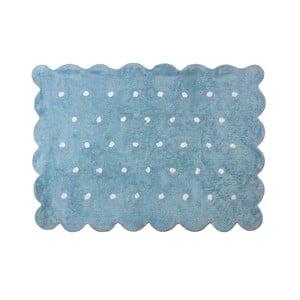 Koberec Cookie 160x120 cm, modrý