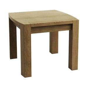 Odkládací stolek z dubového dřeva Fornestas Goliath