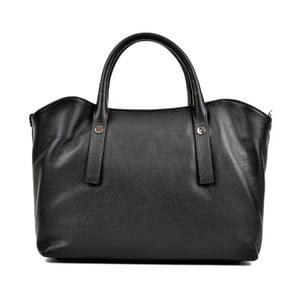 Černá kožená kabelka Renata Corsi Smielo