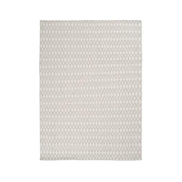 Vlněný koberec Elliot White, 170x240 cm