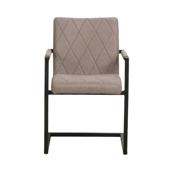 Šedá jídelní židle LABEL51 Denmark