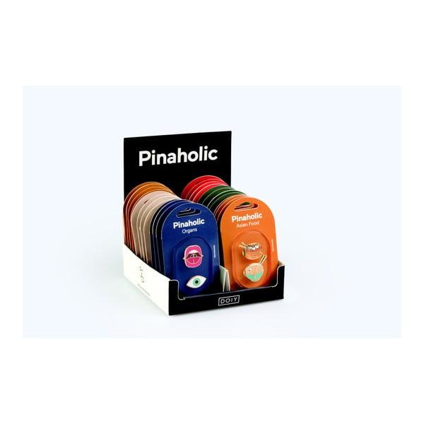 Sada 48 připínáčků DOIY Pinaholic Assorted