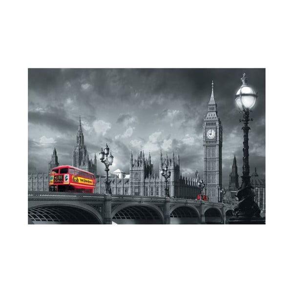 Jednodílná fototapeta Červené autobusy (Westminster Bridge)
