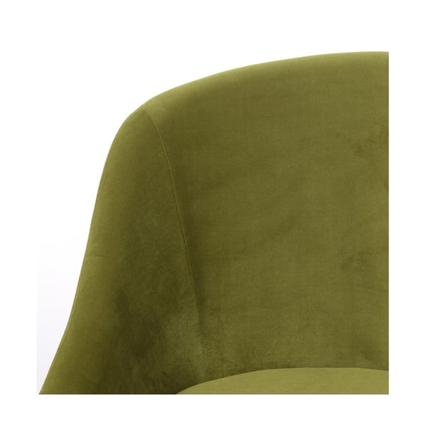 Olivově zelená pohovka Hawke&Thorn Herman