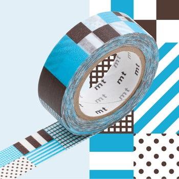 Bandă decorativă Washi MT Masking Tape Blanche, rolă 10 m de la MT Masking Tape