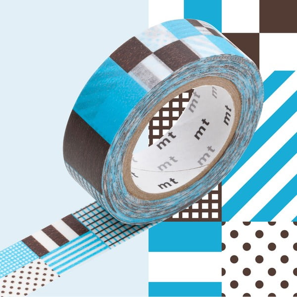 Washi páska MT Masking Tape Blanche, návin10m