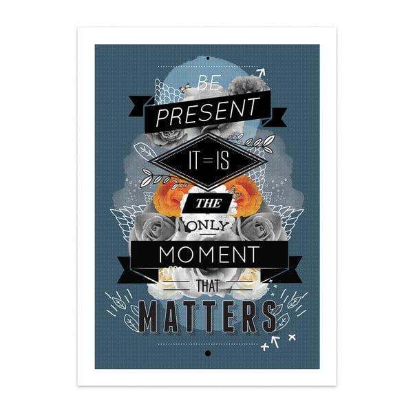 Plakát The Present, limitovaná edice