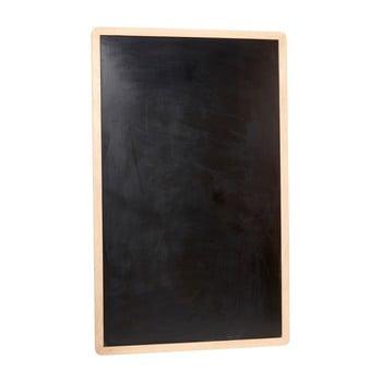 Placă pentru perete Hübsch Oak Board, negru imagine