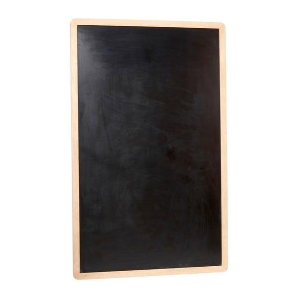 Placă pentru perete Hübsch Oak Board, negru