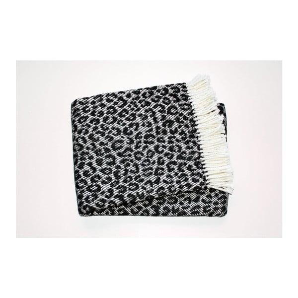 Deka Leopard Black, 140x180 cm