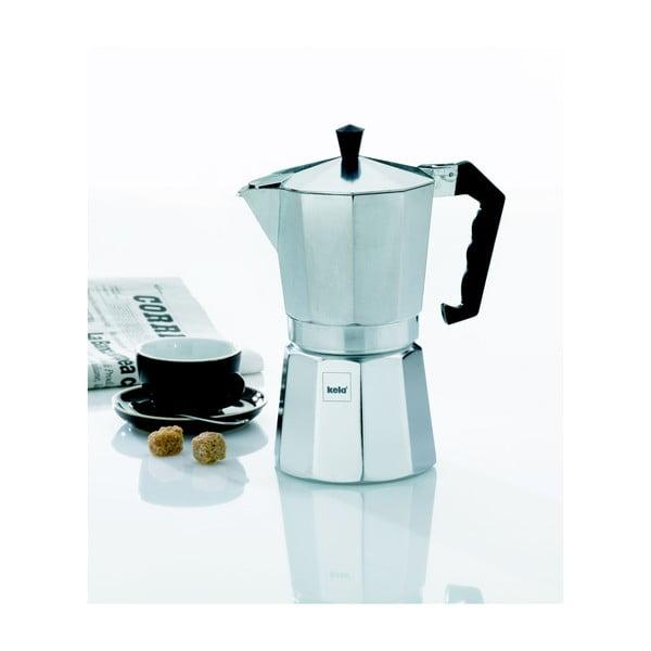 Ibric moka din aluminiu Kela Espresso Italia, 450 ml