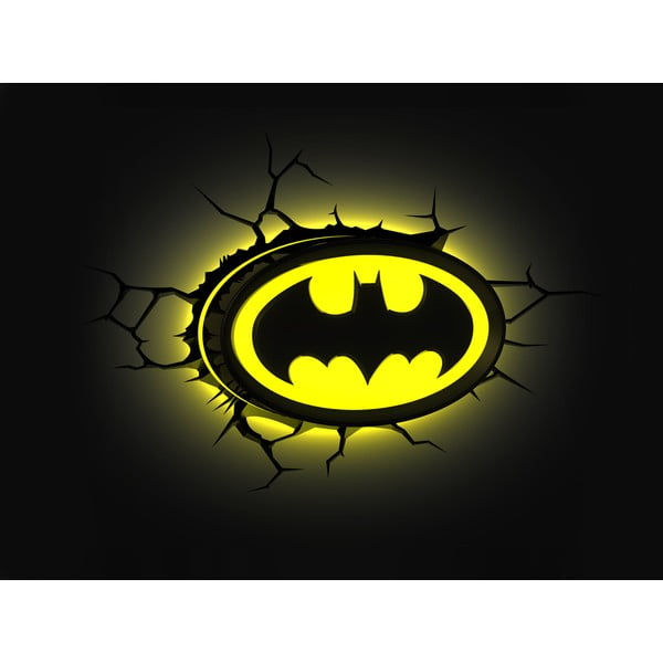 Nástěnné světlo s nálepkou Tnet Batman
