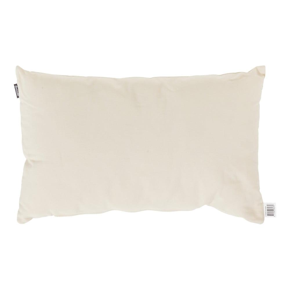 Bílý zahradní polštář Hartman Havana, 30x50cm