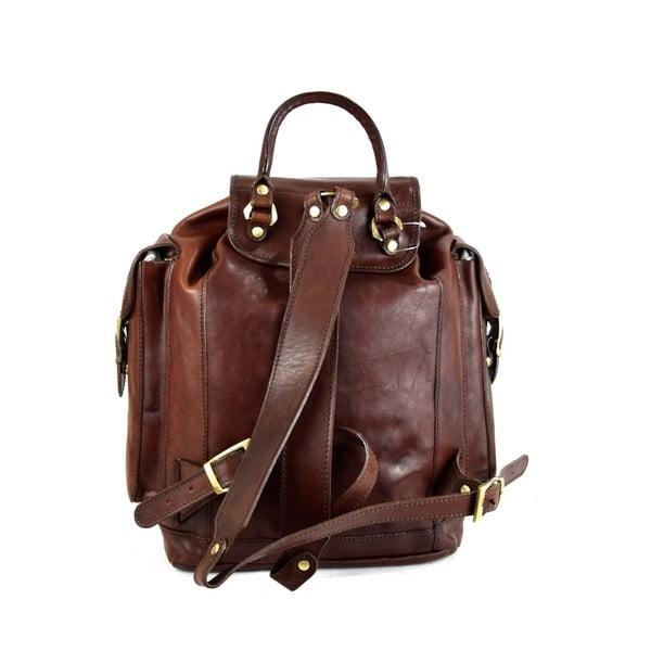 Kožený batoh Santo Croce 8831 Dark Brown