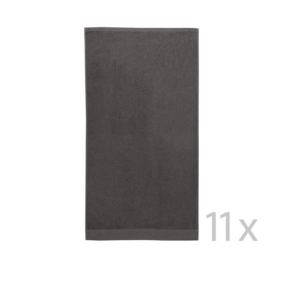 Koupelnový set Pure Basalt, 11 ks