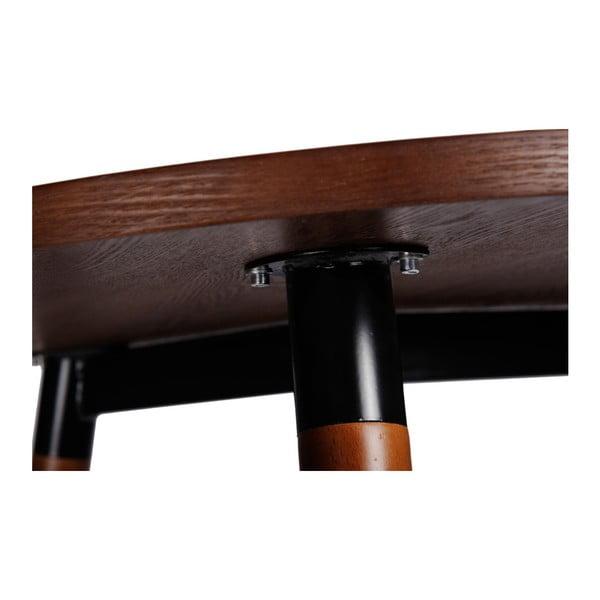 Stůl z ořechu D2 Copine, 120x80 cm