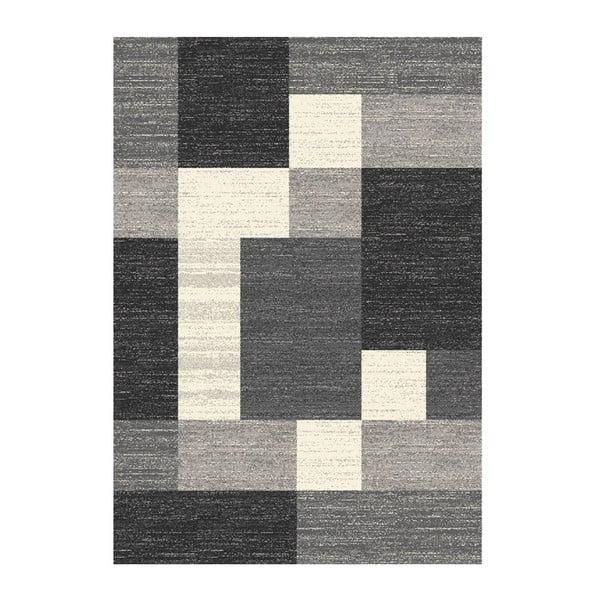 Koberec Manhattan Black, 133x190 cm